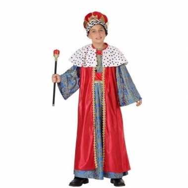 Kinder kostuum wijzen uit het oosten rood