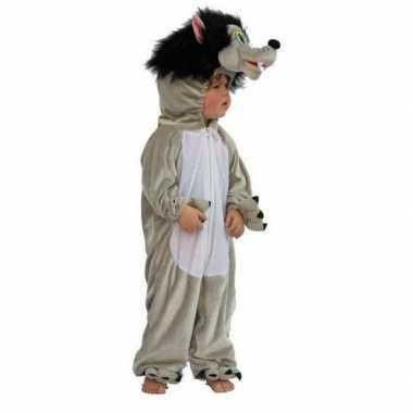 Kinder wolven kostuum