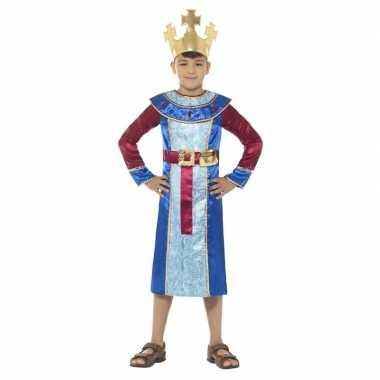 Koning melchior kostuum voor jongens 3 koningen kerst kostuum