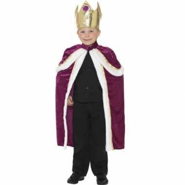 Koningen cape voor kids
