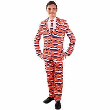 Koningsdag kostuum vlag nederland kostuum voor heren
