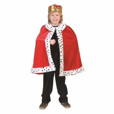 Koningskostuum kinderen