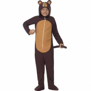 Kostuum aap all in one voor kinderen