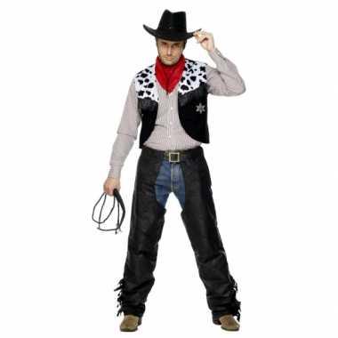 Kostuum cowboy heren