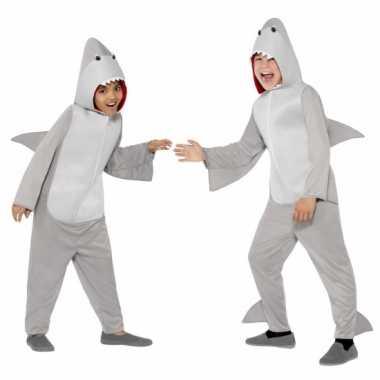 Kostuum haai all in one voor kinderen