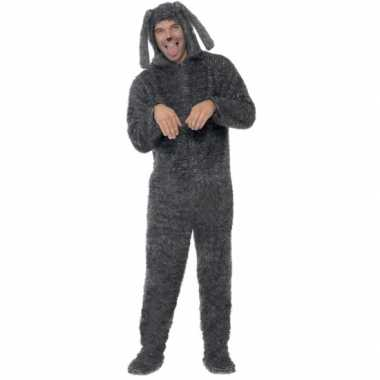 Kostuum hond all in one voor volwassenen