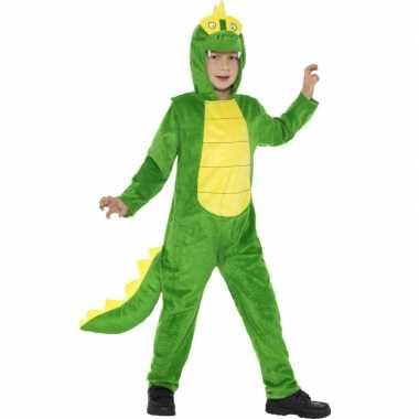 Kostuum krokodil all in one voor kinderen