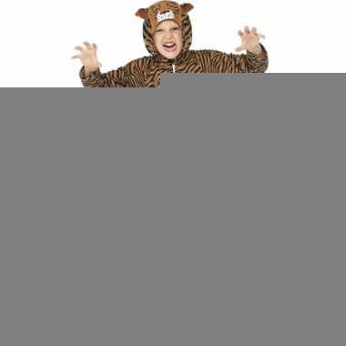 Kostuum tijger all in one voor kinderen
