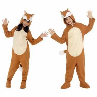 Kostuum vos all in one voor kinderen