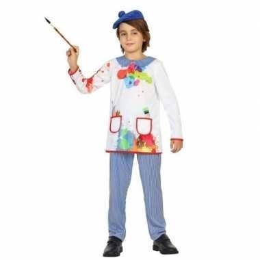 Kunstschilder verkleed kostuum picassio voor kinderen