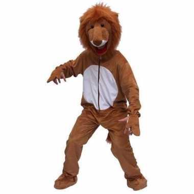 Leeuwen kostuumken bruin