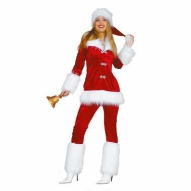 Luxe dames kostuum voor de kerst