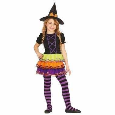 Luxe heksen kostuum brujita voor kinderen