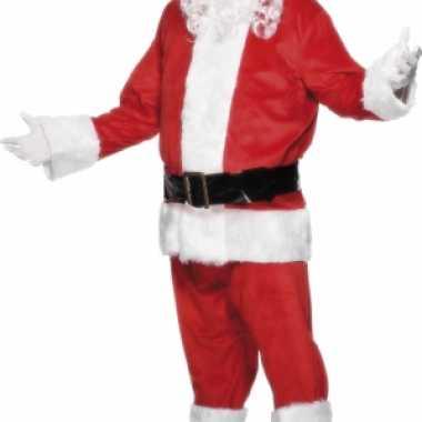 Luxe kerst kostuum voor heren