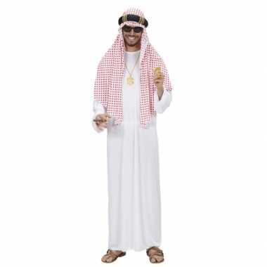 Luxe sjeik kostuum voor heren