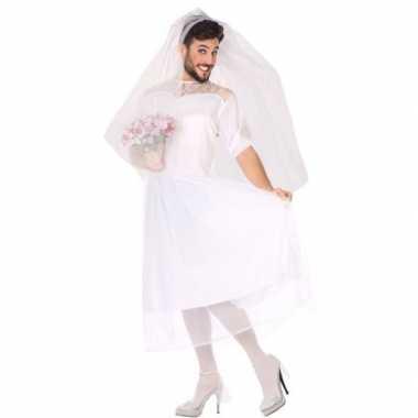Man bruid fun verkleed kostuum voor heren