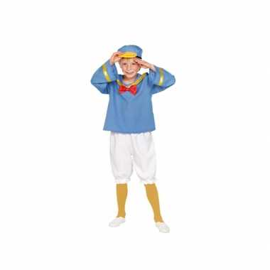 Matrozen eend kinder verkleed kostuum