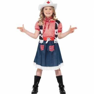 Meisjes cowboy kostuum