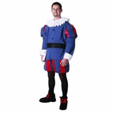Middeleeuwse prins kostuum voor heren