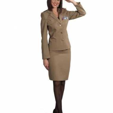 Militair kostuumje voor dames