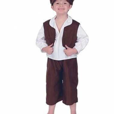 Oliver twist kostuumje voor jongens