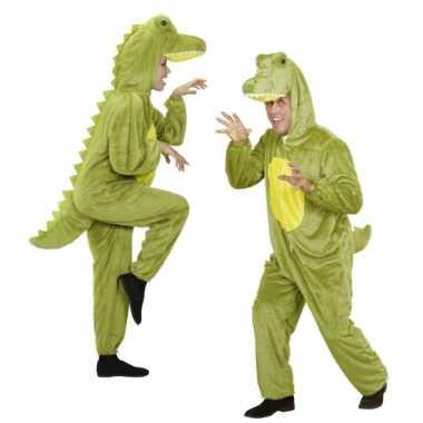 Onesie dierenkostuumken krokodil