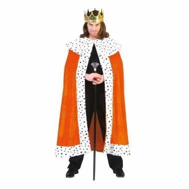 Oranje koningskostuum volwassenen