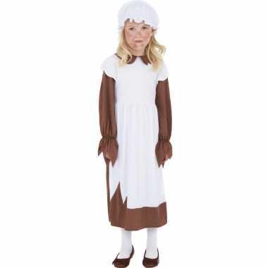 Ouderwets jurkje voor meiden