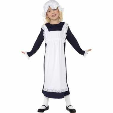 Ouderwets weesmeisje kostuum