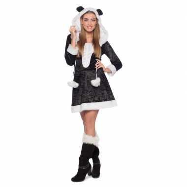 Panda dierenkostuum jurkje voor dames