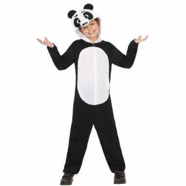 Panda wu wen kostuum voor kinderen