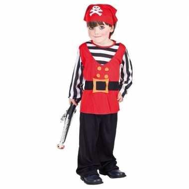 Peuter piraten kostuum