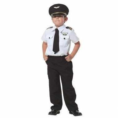 Piloot verkleed kostuum voor jongens