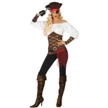 Piraat agatha verkleed kostuum/kostuum voor dames