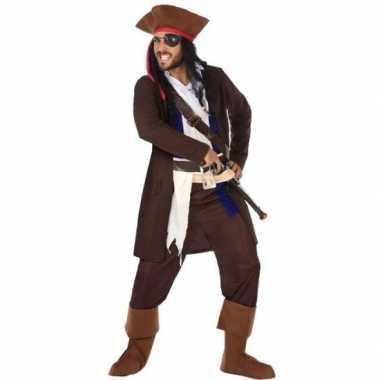 Piraat christopher verkleed kostuum/kostuum voor heren