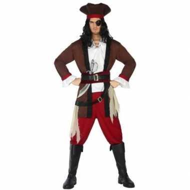 Piraat henry verkleed kostuum/kostuum voor volwassenen