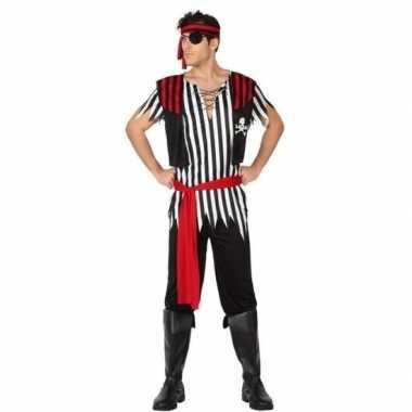 Piraat jack verkleed kostuum/kostuum voor heren