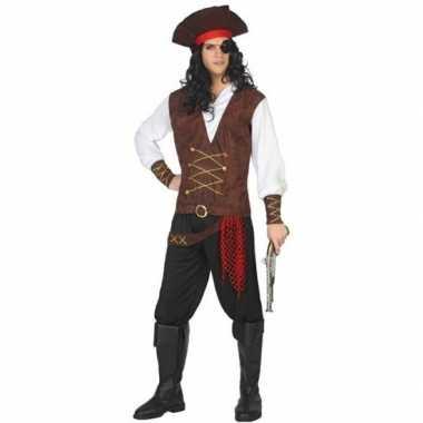 Piraat lewis verkleed kostuum/kostuum voor volwassenen