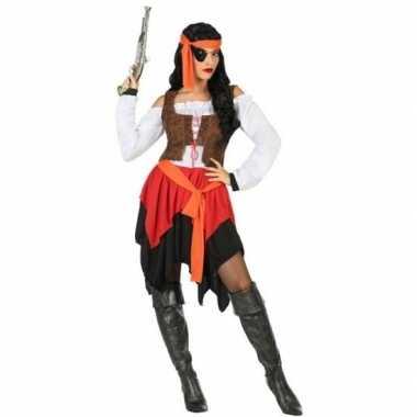 Piraat mary verkleed kostuum/kostuum voor dames