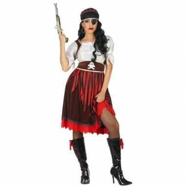 Piraat rachel verkleed kostuum/kostuum voor dames