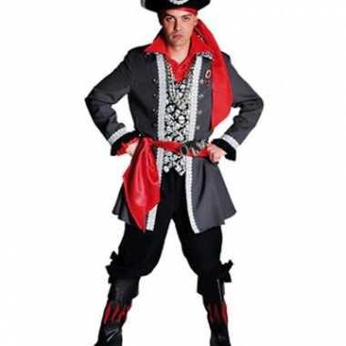Piraten kostuum luxe voor heren