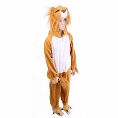 Pluche leeuwenkostuum voor kinderen