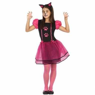 Poes/kat kitty kostuum voor meisjes