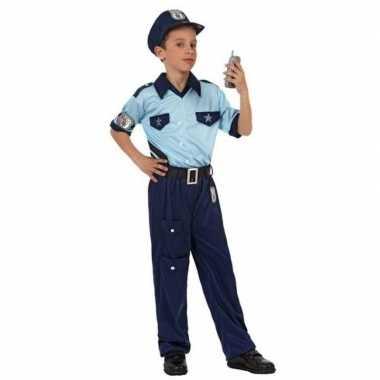 Politie agent kostuum / verkleed kostuum voor jongens