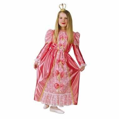 Prinsessen jurk roze kinderen