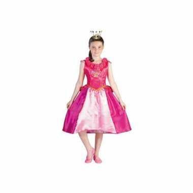 Prinsessia verkleed kostuum roze