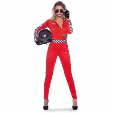 Race verkleed kostuum/kostuum voor dames