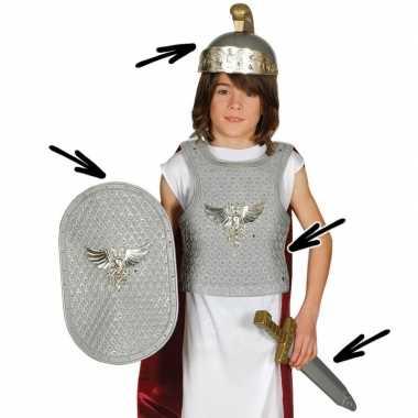 Romeinse ridder carnavalskostuum voor kinderen