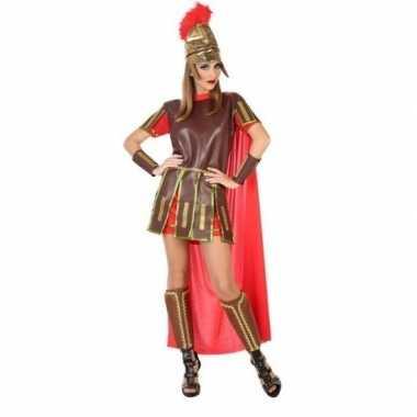 Romeinse soldaat/gladiator felicia kostuum/jurk voor dames