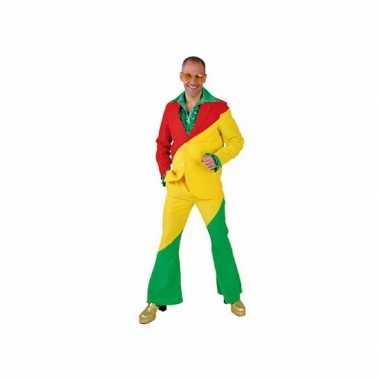 Rood/geel/groene kostuums voor volwassenen